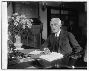 Treasury Secretary Andrew Mellon in 1926, image courtesy Library of Congress