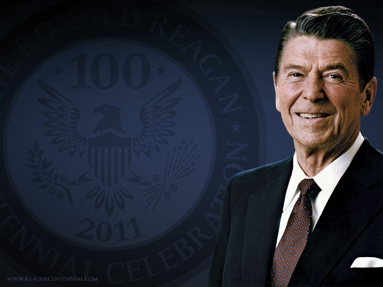 ronald reagans middle name
