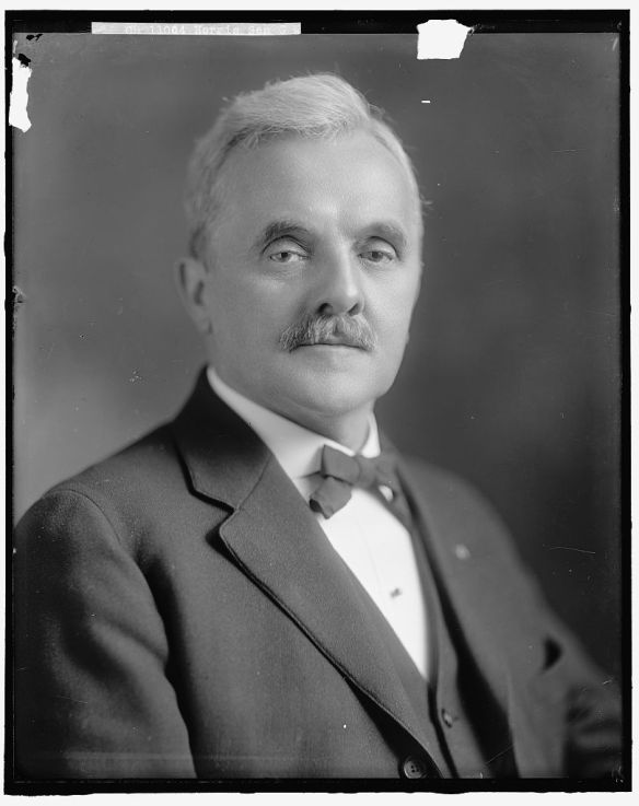 Sen. George W. Norris (photo courtesy Digital Archives. Library of Congress)